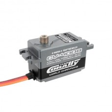 Corally CV-4008 - Low Voltage High Speed low profile servo - coreless, titanium gears, alloy case (0.07s/8.5kg @ 6v)